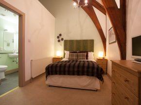Master bedroom and en suite bathroom