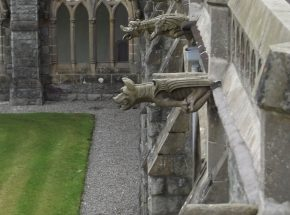 Gargoyles in the Cloister Garden