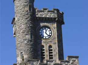 The Clock Tower at the Old School