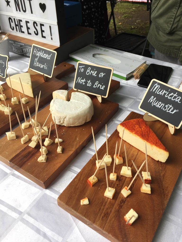 You can enjoy some cheese and much, much more, produced by local farmers!