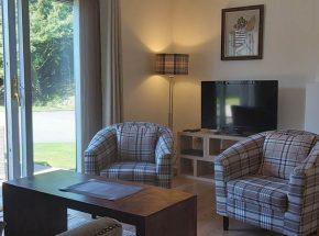 Brora Cottage living area