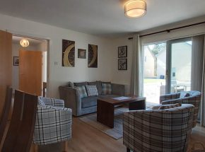 Brora Cottage is tastefully decorated